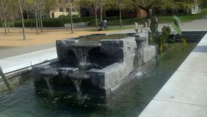st johns water feature