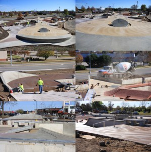 stcloud skate park construction